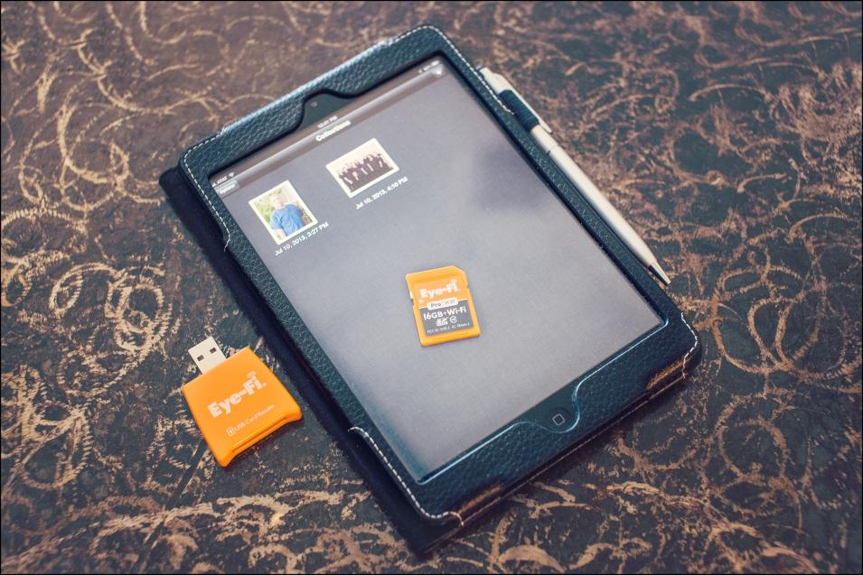How to tethering to an iPad with an Eye Fi Card aggiebrooks.com