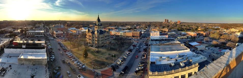 Denton Texas Panoramic