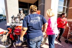 dallas commercial photographer Altair Global Moto Kofe