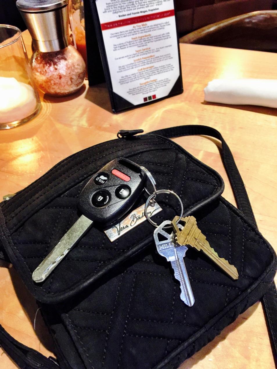 iWANT My Keys Back